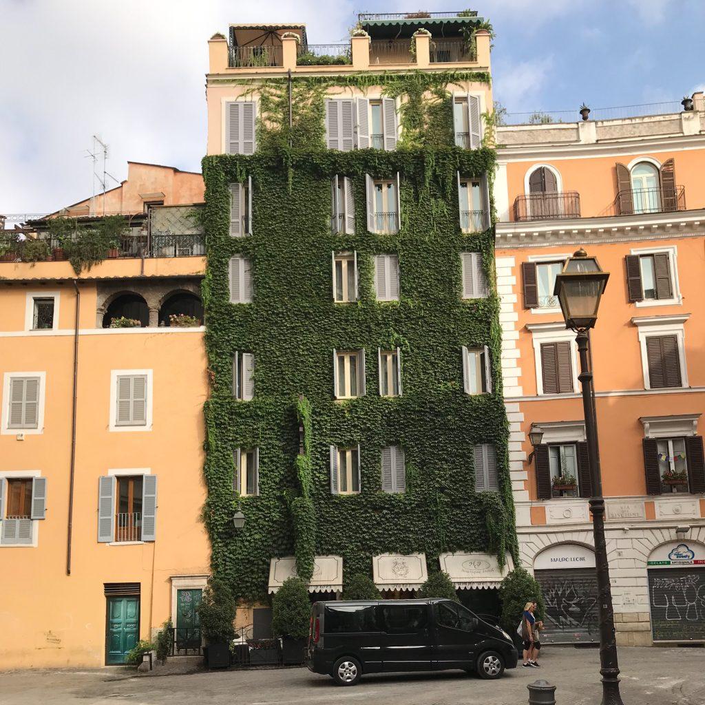 Hotel Campo de' Fiori, Rome, Brian King