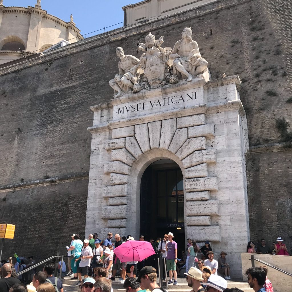 The Gates of the Vatican, Brian King