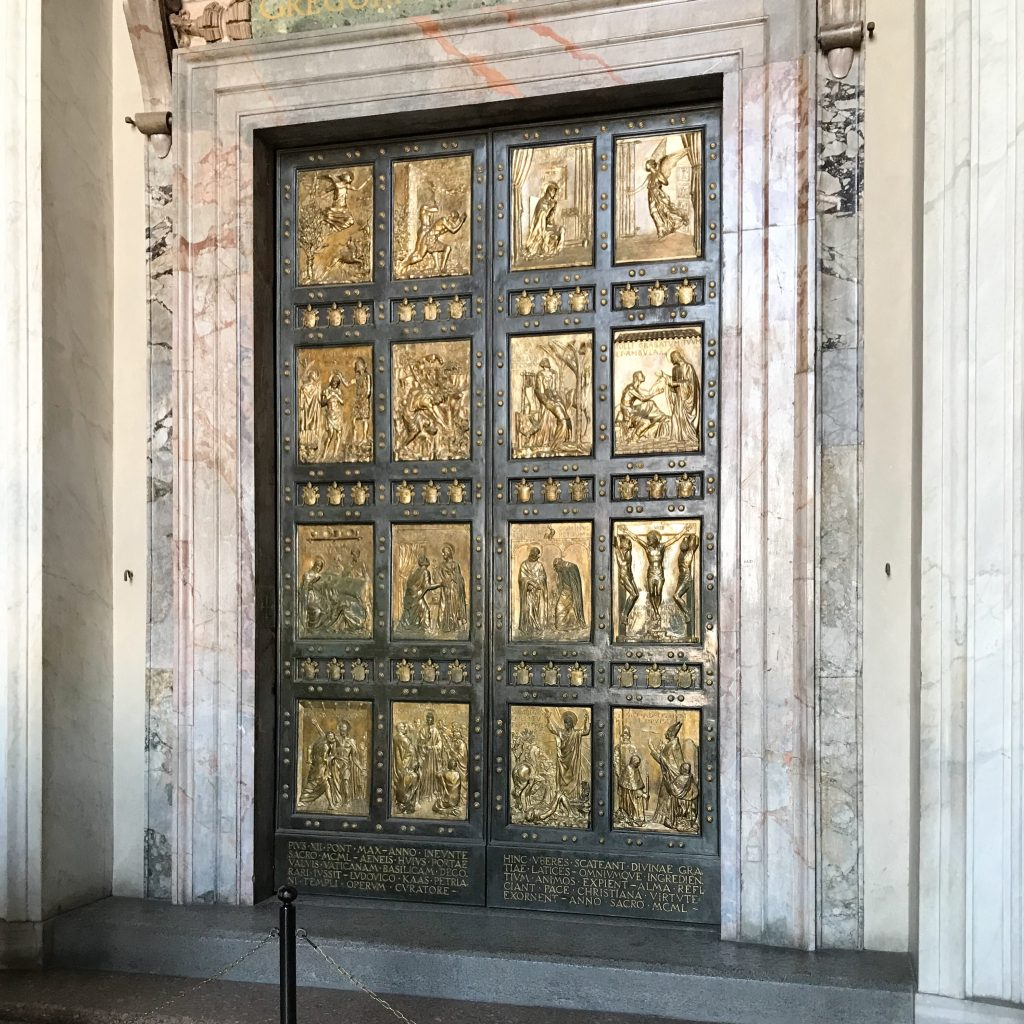 The Holy Door at St Peter's Basilica, Brian KIng