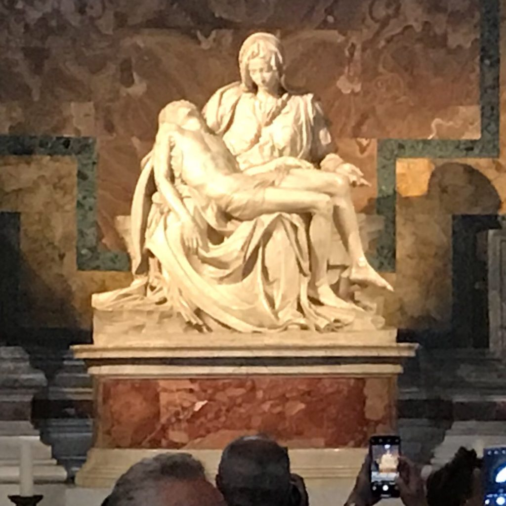 Michelangelo's The Pietà, Brian King