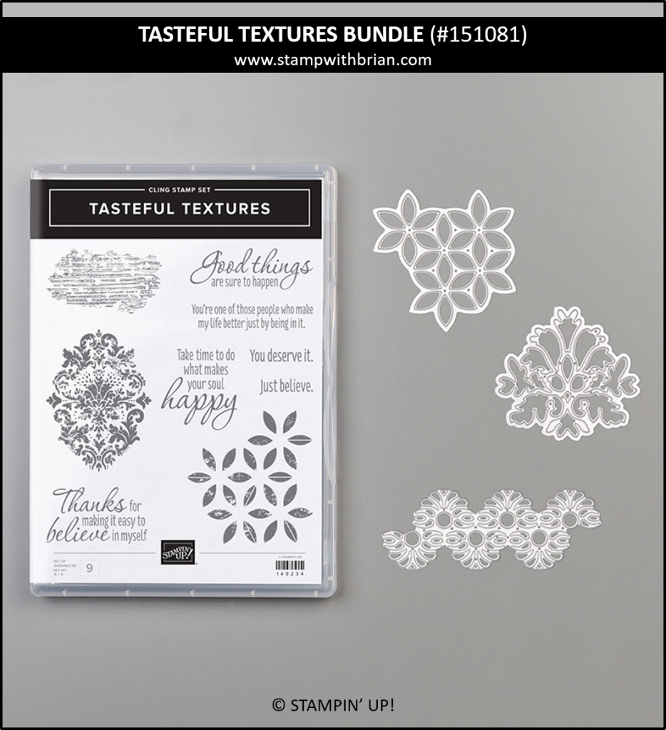 Tasteful Textures Bundle, Stampin' Up! 151081