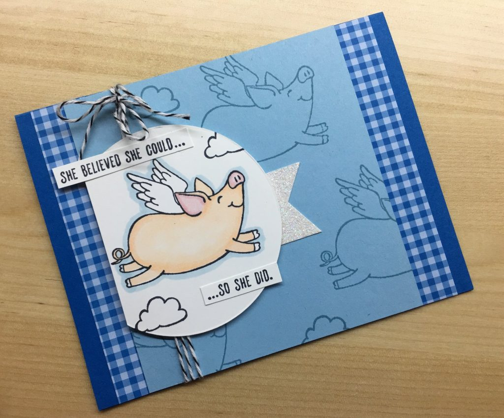 Tina Simons, This Little Piggy, Stampin' Up!, CASE the 2019 Annual Catalog
