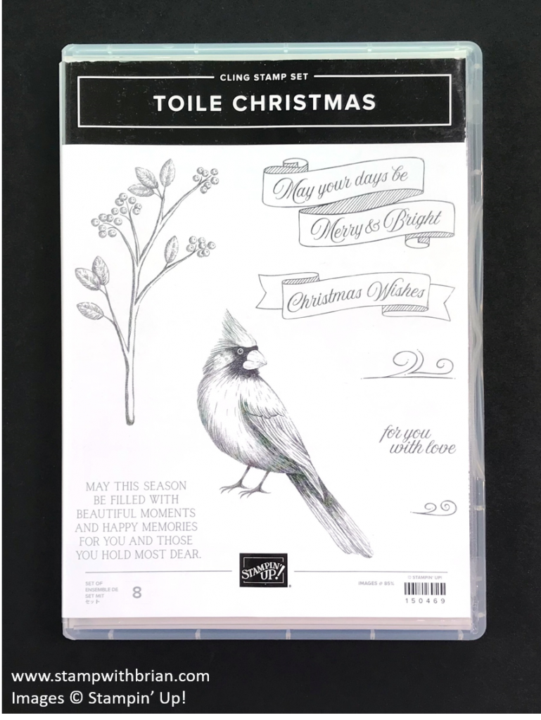Toile Christmas, Stampin' Up! 2019 Holiday Catalog