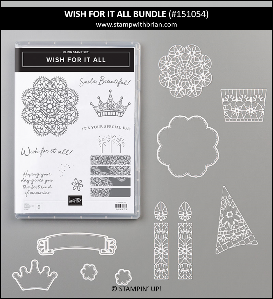 Wish for It All Bundle, Stampin' Up! 151054