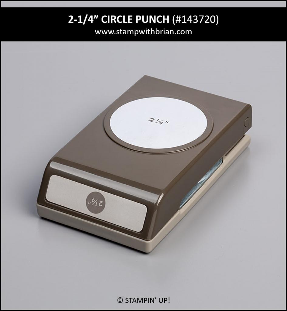 "2-1/4"" Circle Punch, Stampin' Up! 143720"