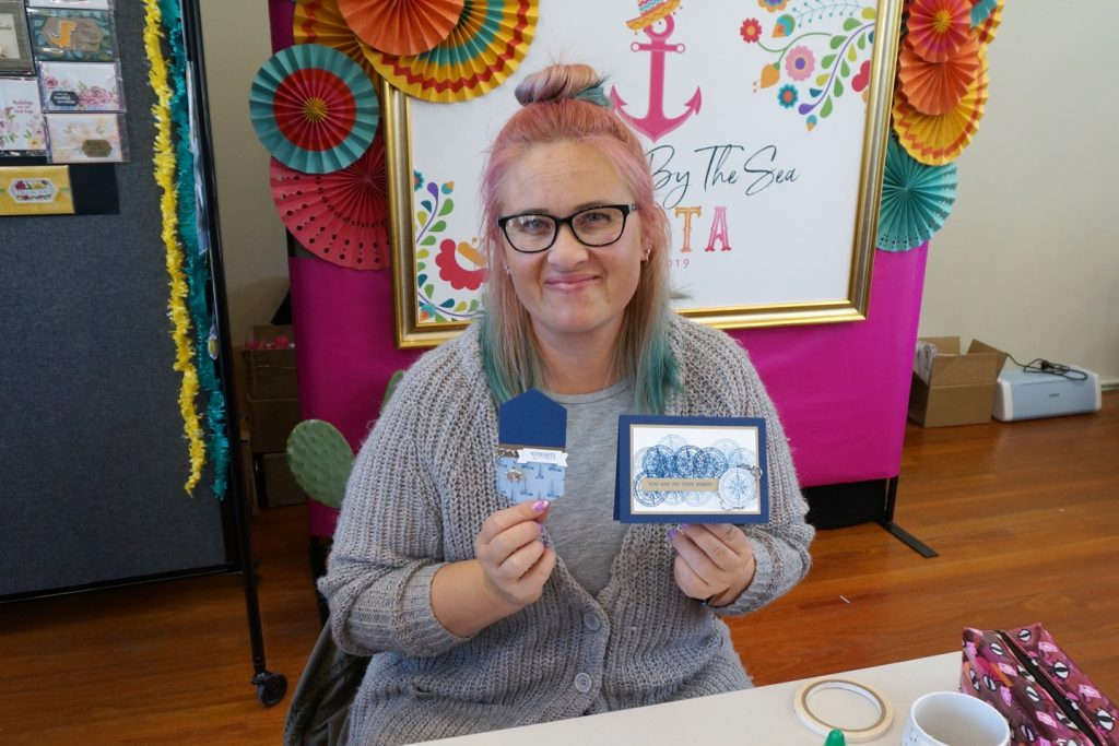 Attendee at Louise Sharp's Stamping by the Sea Retreat, Stampin' Up!