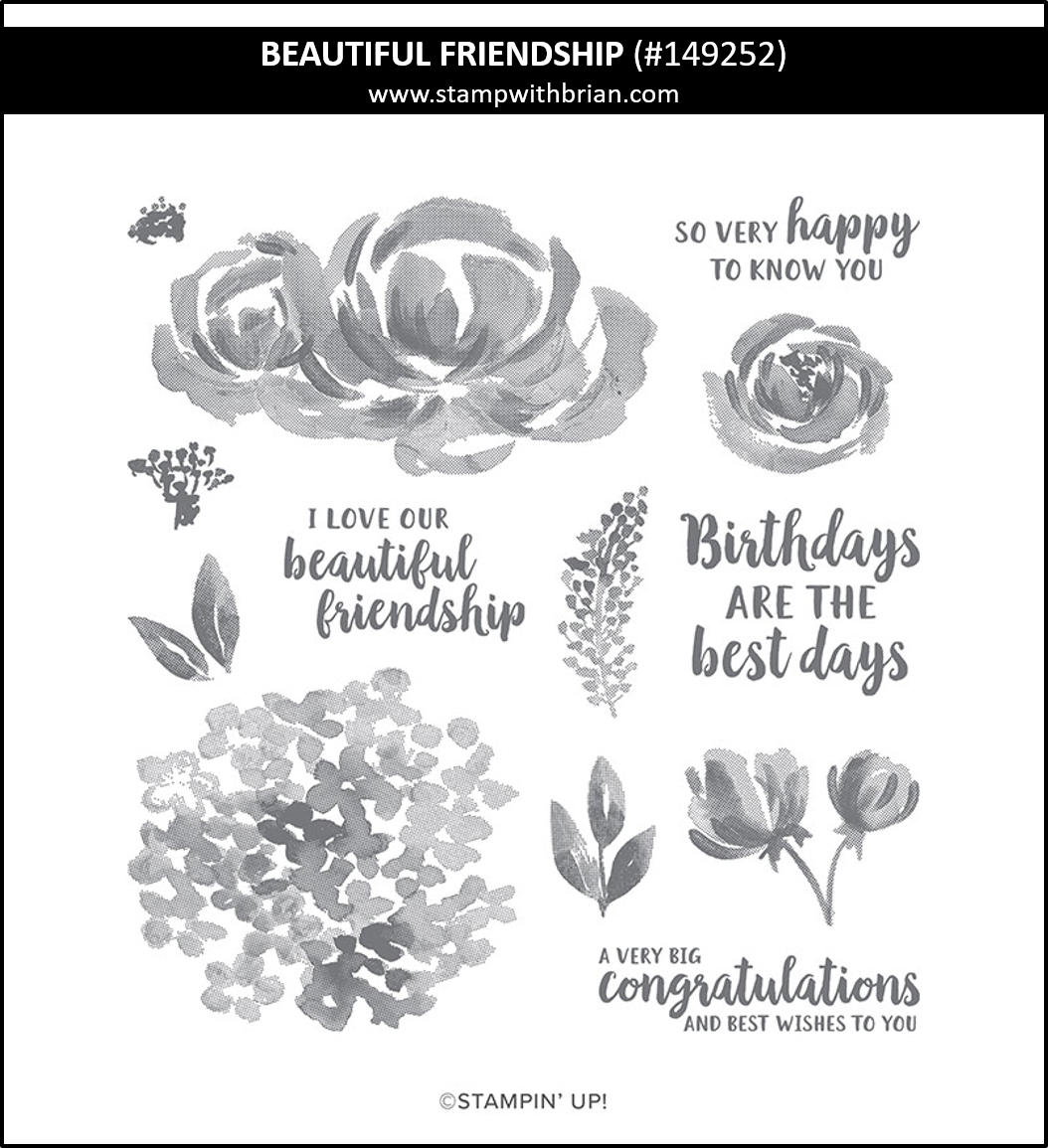 Beautiful Friendship, Stampin' Up! 149252