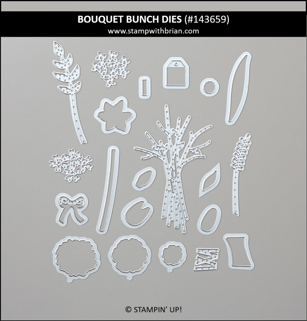 Bouquet Bunch Dies, Stampin' Up! 143659