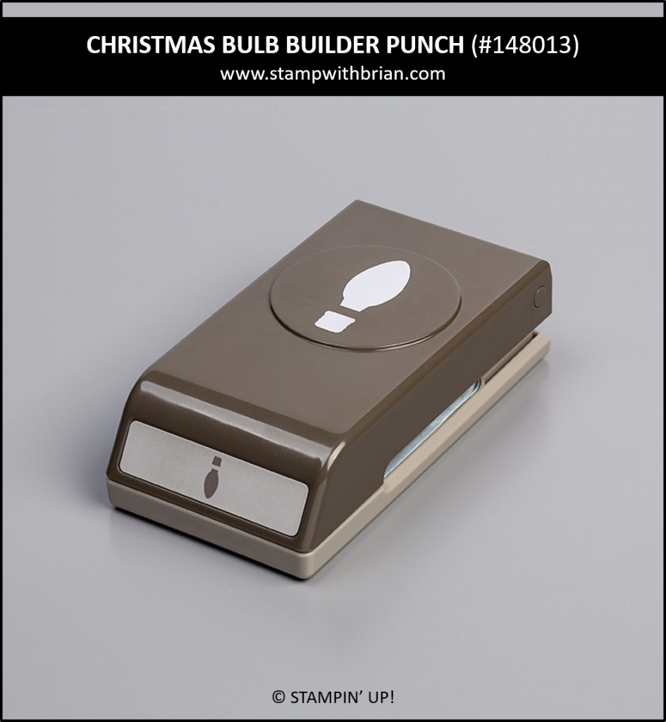 Christmas Bulb Builder Punch, Stampin' Up! 148013
