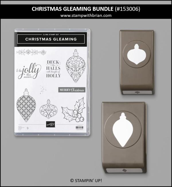 Christmas Gleaming Bundle, Stampin' Up! 153006
