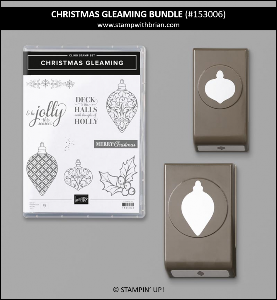 Christmas Gleaming Bundle, Stampin' Up! 153006