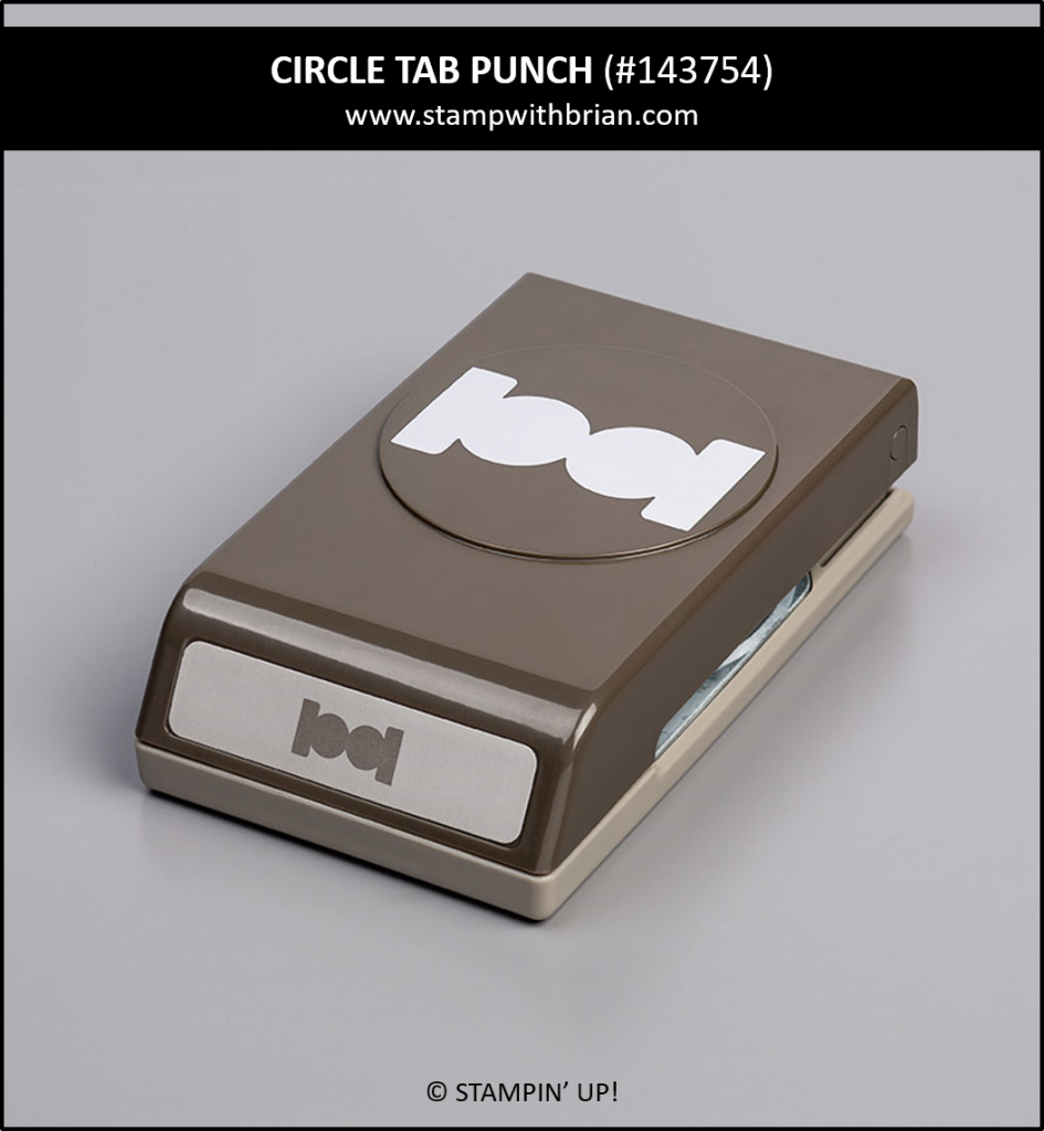 Circle Tab Punch, Stampin' Up! 143754