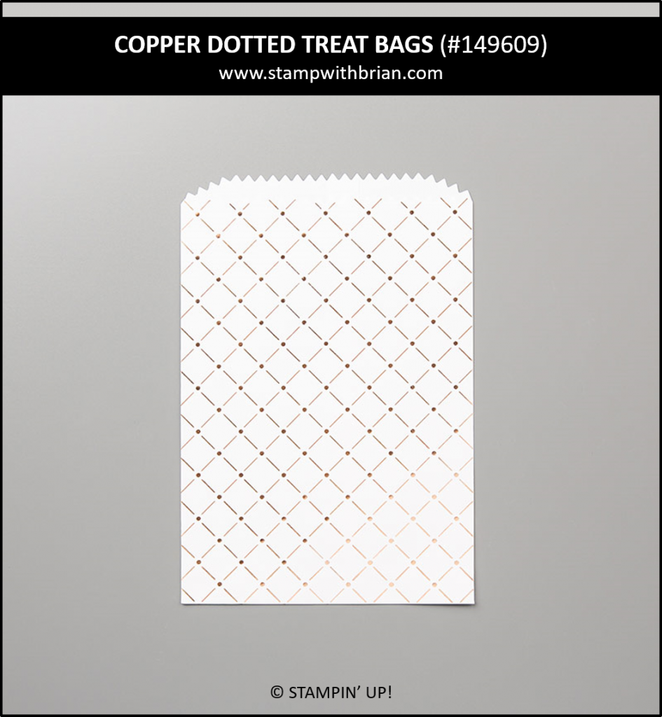 Copper Dotted Treat Bags, Stampin' Up! 149609