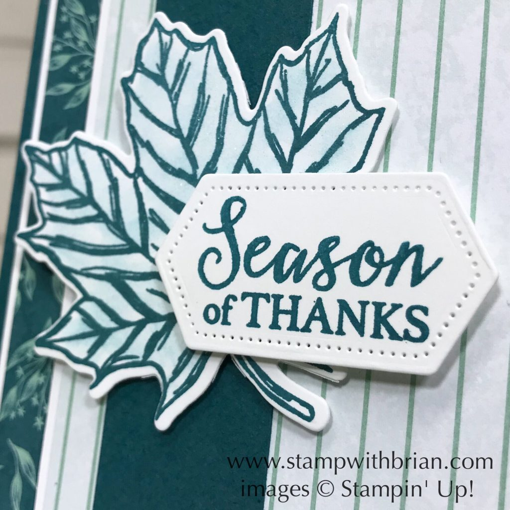 Gather Together Bundle, Come to Gather Designer Series Paper, Stampin' Up!, Brian King, Thanksgiving card
