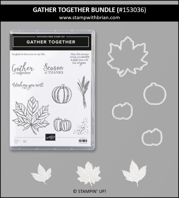 Gather Together Bundle, Stampin' Up! 153036