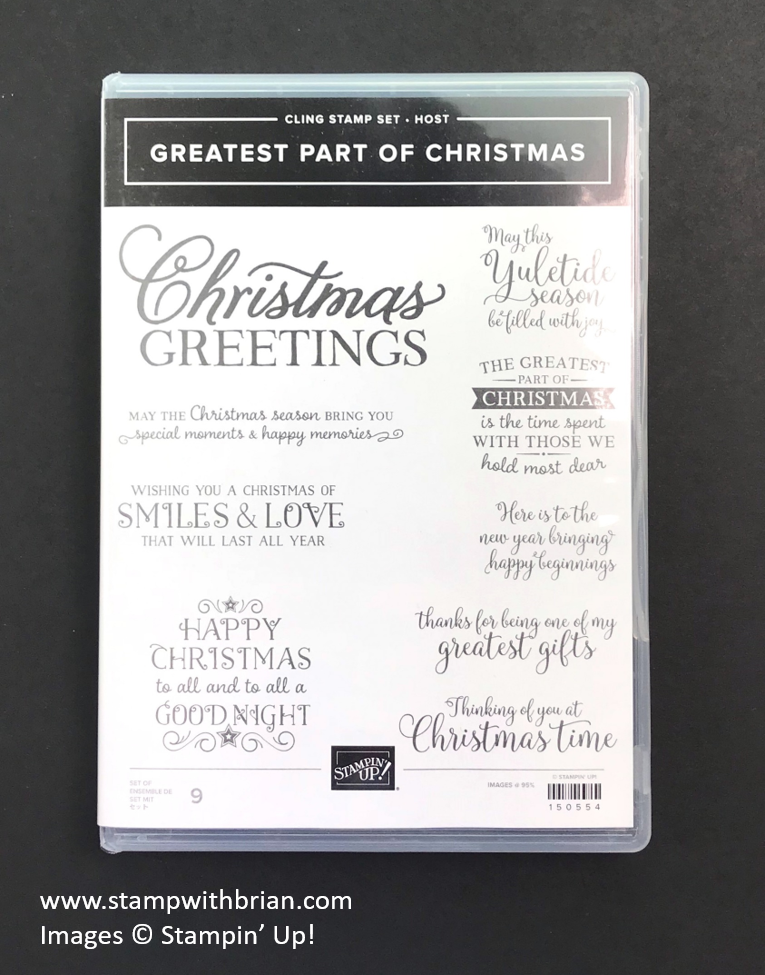 Greatest Part of Christmas Host Set, Stampin' Up! 150554