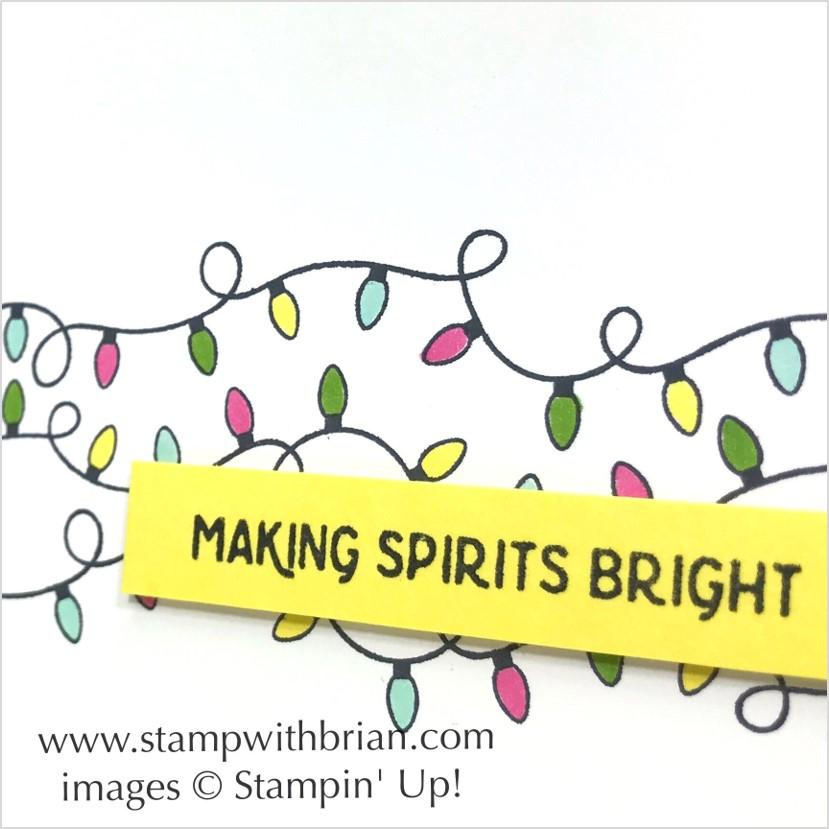 Making Christmas Bright, Stampin' Up!, Brian King