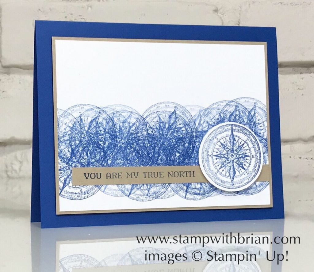 Sailing Home, Overstamping, Stampin' Up!, Brian King