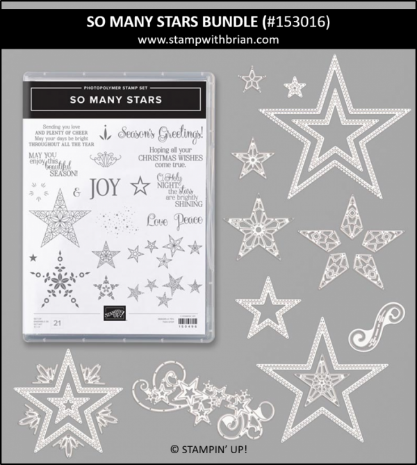 So Many Stars Bundle, Stampin' Up! 153016