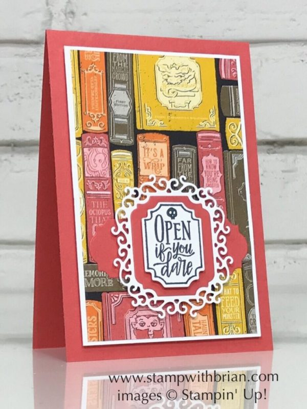 Spooktacular Bash Bundle, Monster Bash Designer Series Paper, Stampin' Up!, Brian King, Halloween card