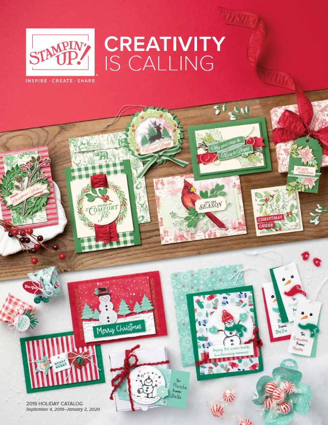 Stampin' Up!'s 2019 Holiday Catalog Cover, Stampin' Up!, Brian King