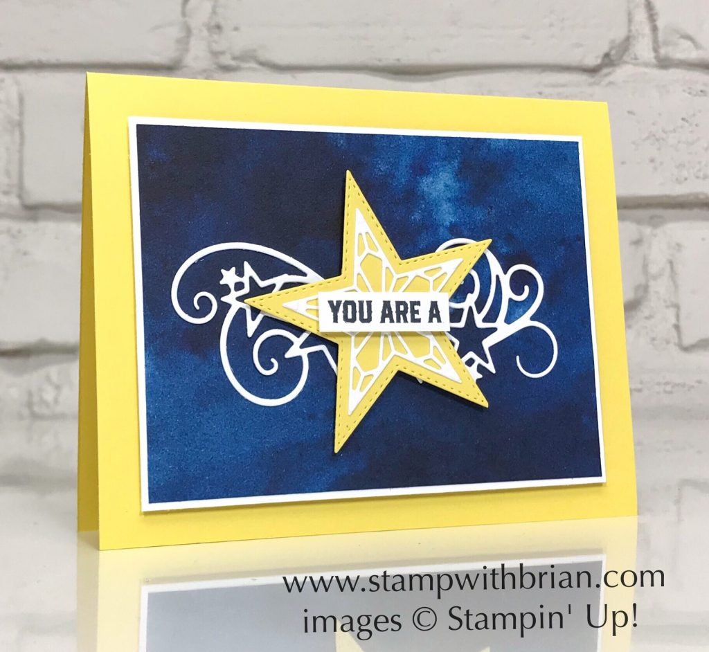 Stitched Stars Dies, Everything Amazing, Stampin' Up!, Brian King