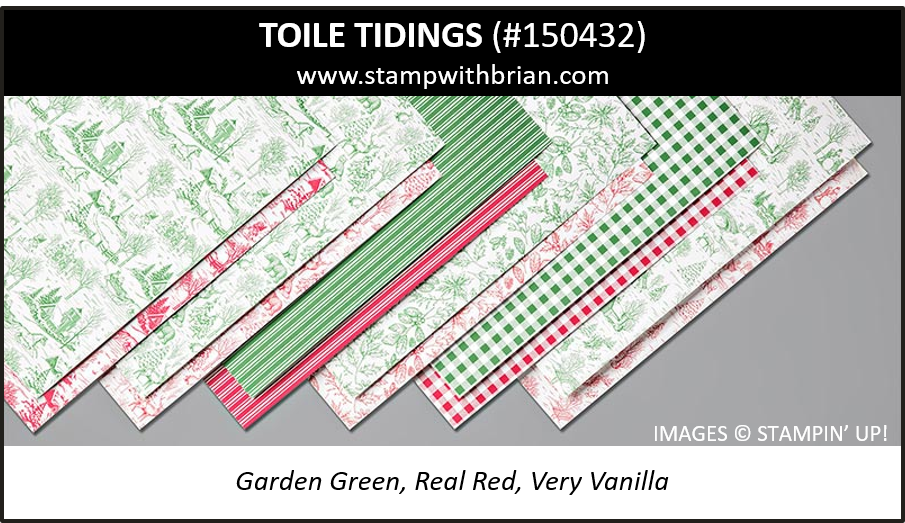 Stampin' Up!'s 2019 Holiday Catalog Designer Series Papers – STAMP
