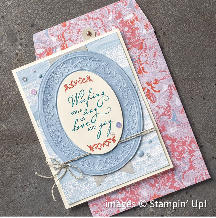 Woven Threads Designer Series Paper, Stampin' Up!