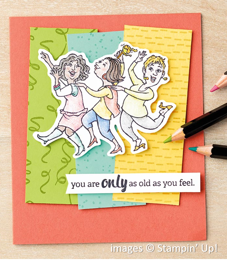 Young at Heart, Stampin' Up!