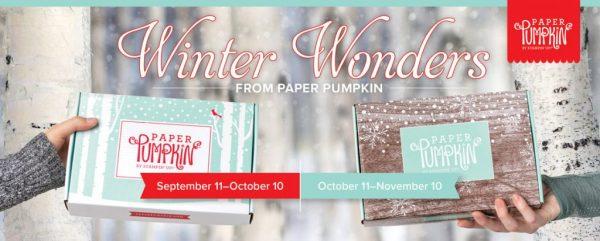 Winter Woods Paper Pumpkin, Stampin' Up!