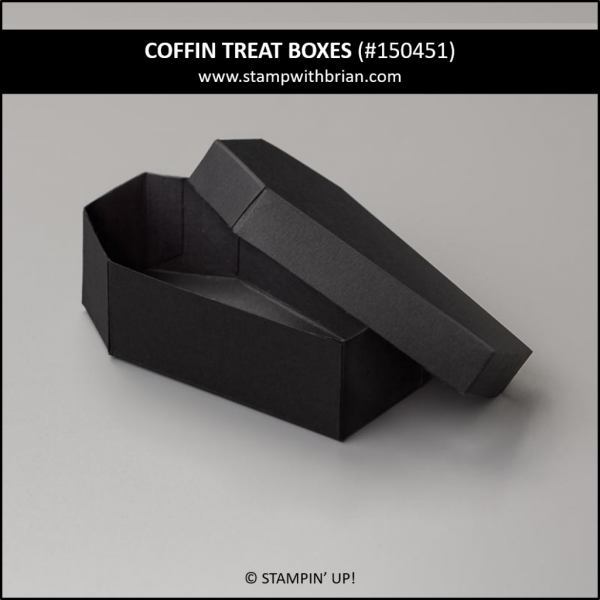 Coffin Treat Boxes, Stampin' Up! 145451