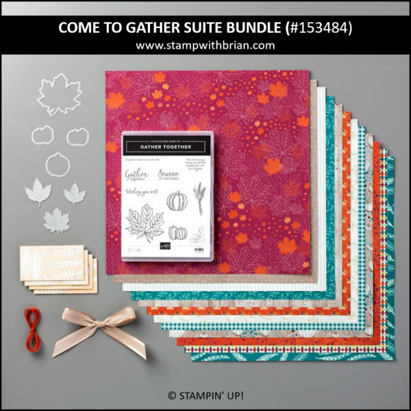 Come to Gather Suite Bundle, Stampin' Up! 153484