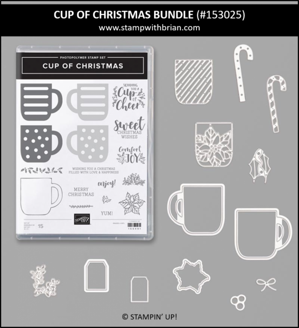 Cup of Christmas Bundle, Stampin' Up!, 153025