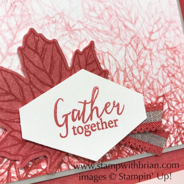 Gather Together Bundle, Thanksgiving Card, Stampin' Up!, Brian King