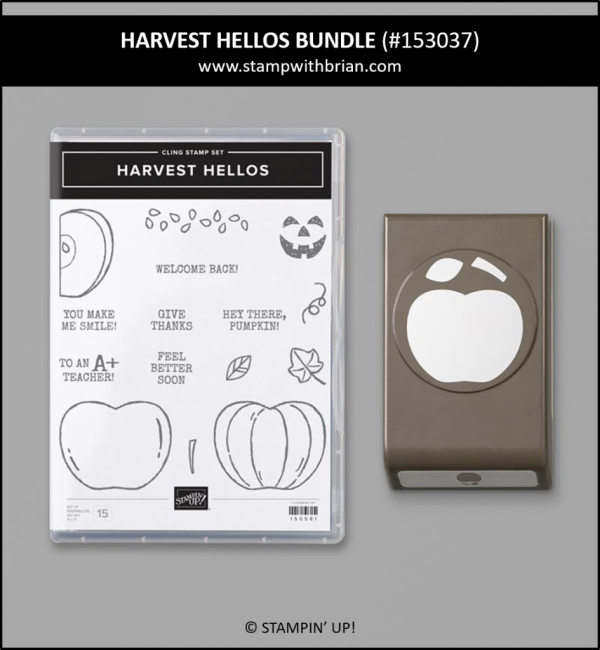 Harvest Hellos Bundle, Stampin 'Up!, 153037