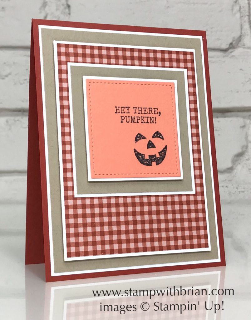 Harvest Hellos, Stampin' Up!, Brian King