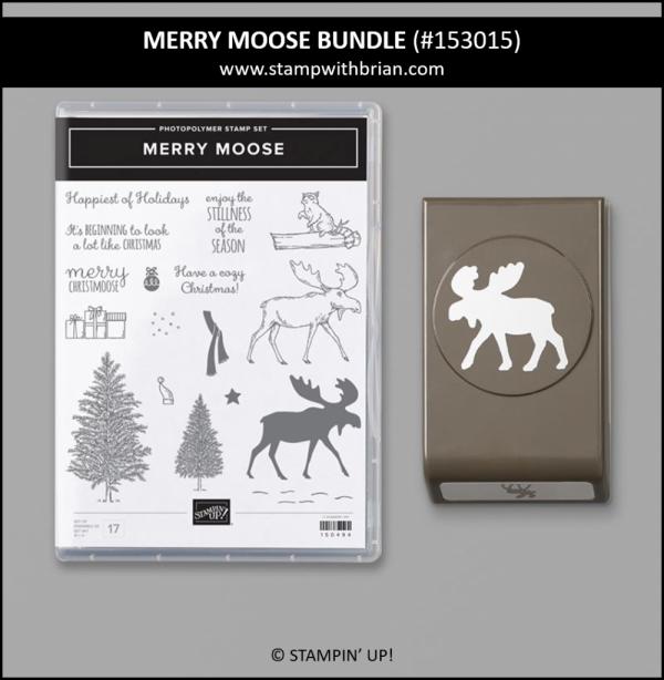 Merry Moose Bundle, Stampin' Up! 153015