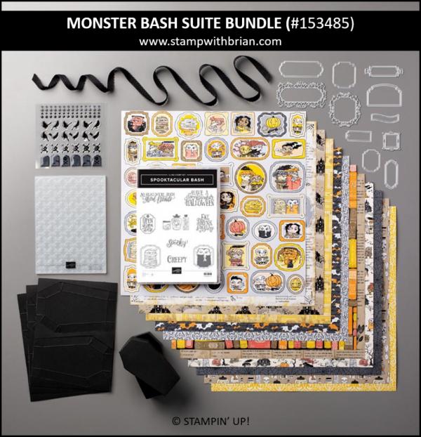 Monster Bash Suite Bundle, Stampin' Up! 153485