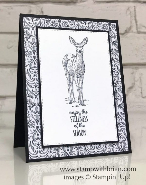 Nature's Beauty, Merry Moose, Stampin' Up!, Brian King
