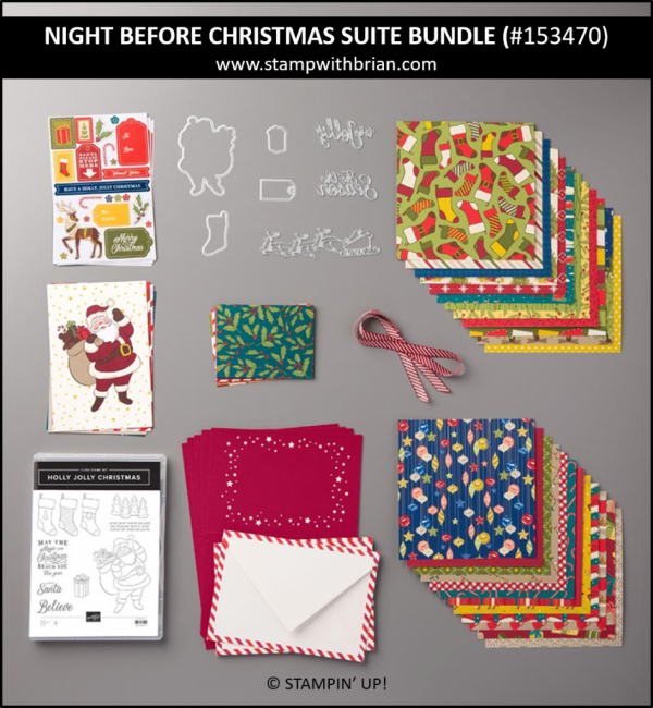 Night Before Christmas Suite Bundle, Stampin' Up! 153470