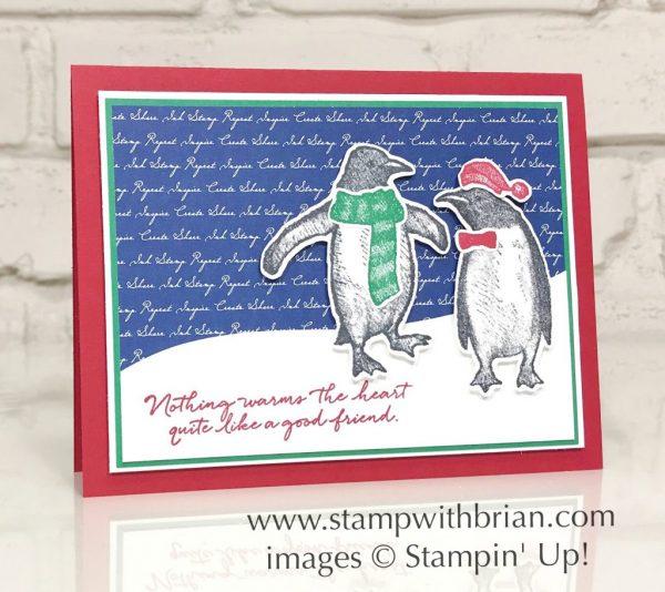 Playful Penguins, Stampin' Up!, Brian King