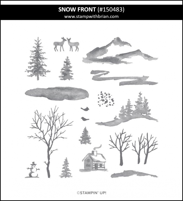 Snow Front, Stampin' Up! 150483