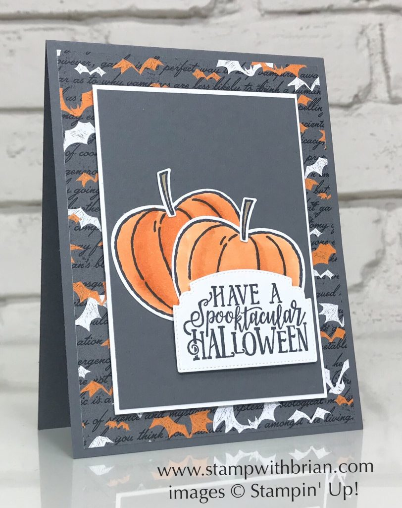 Spooktacular Bash Bundle, Hello Harvest Bundle, Stampin' Up!, Brian King