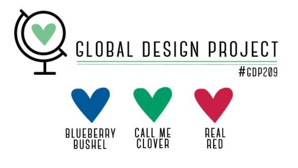 Stampin' Up! Color Inspiration - Blueberry Bushel, Call Me Clover, Real Red