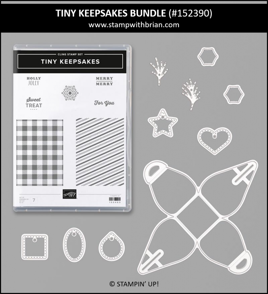Tiny Keepsakes Bundle, Stampin' Up! 152390