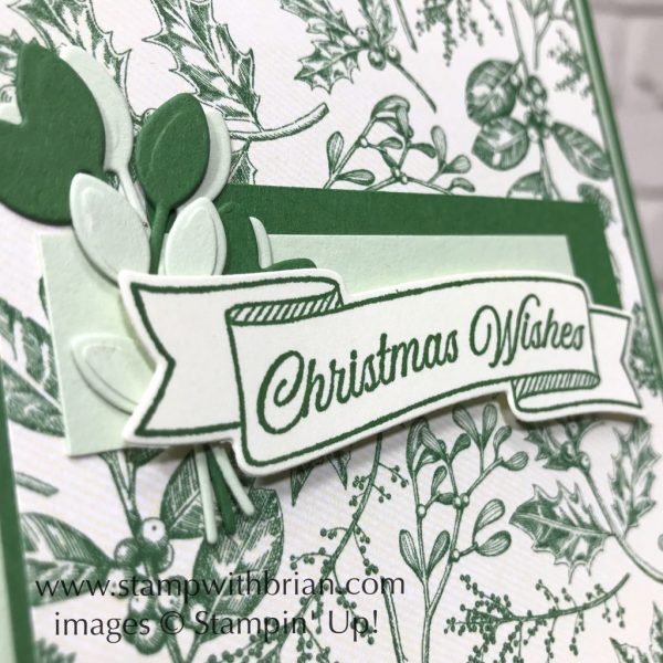 Toile Christmas Bundle, Stampin' Up!, Brian King