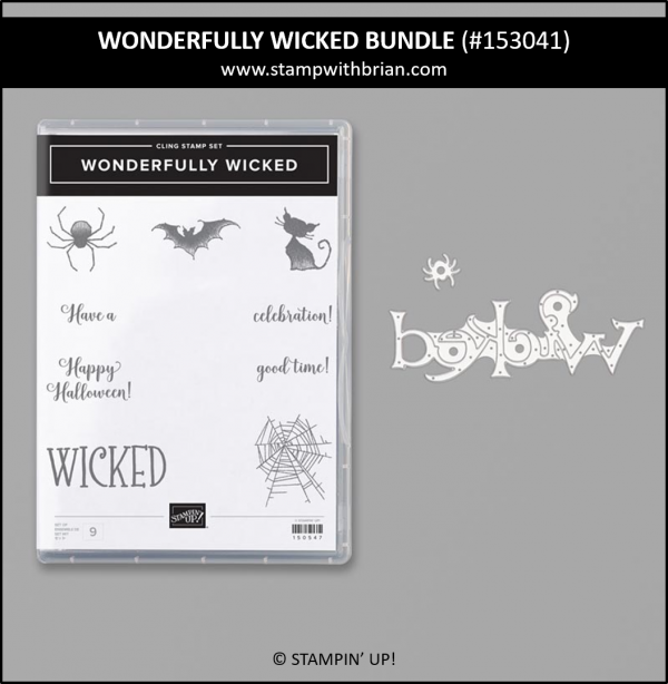 Wonderfully Wicked Bundle, Stampin' Up! 153041