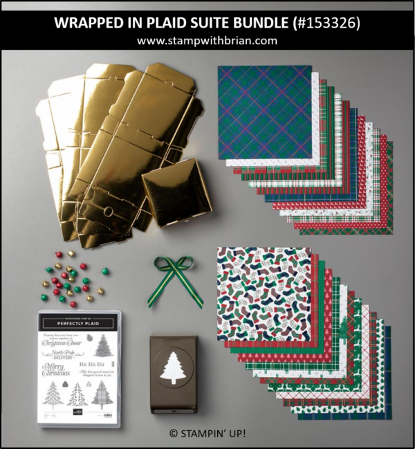 Wrapped in Plaid Suite Bundle, Stampin' Up! 153326