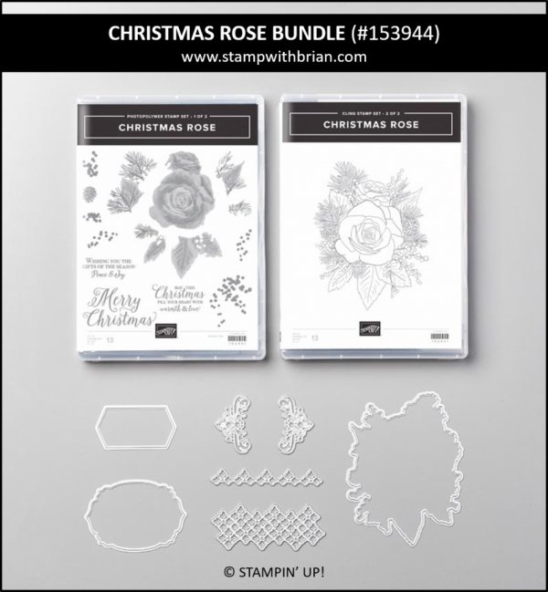 Christmas Rose Bundle, Stampin' Up! 153944