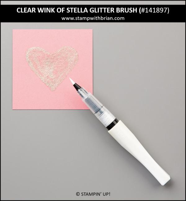 Clear Wink of Stella Glitter Brush, Stampin' Up! 141897